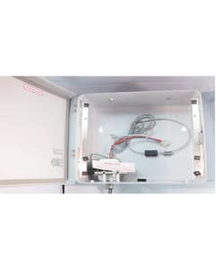 Service replacement CCU Wall Mount Cabinet w/ XFMR
