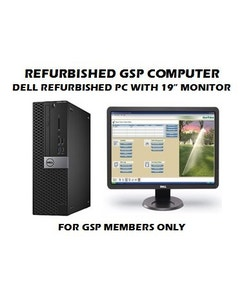 Dell Refurbished Computer with Monitor