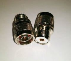 N - Male / UHF - Female Adapter