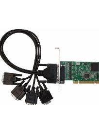 4 Port Industrial RS-232 PCIe adapter Card
